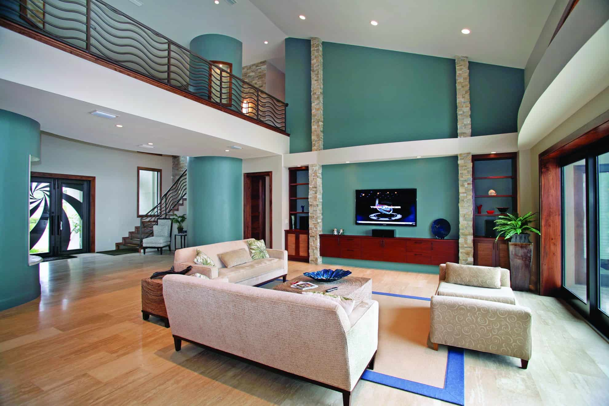 Snell Isle Contemporary_Great Room_