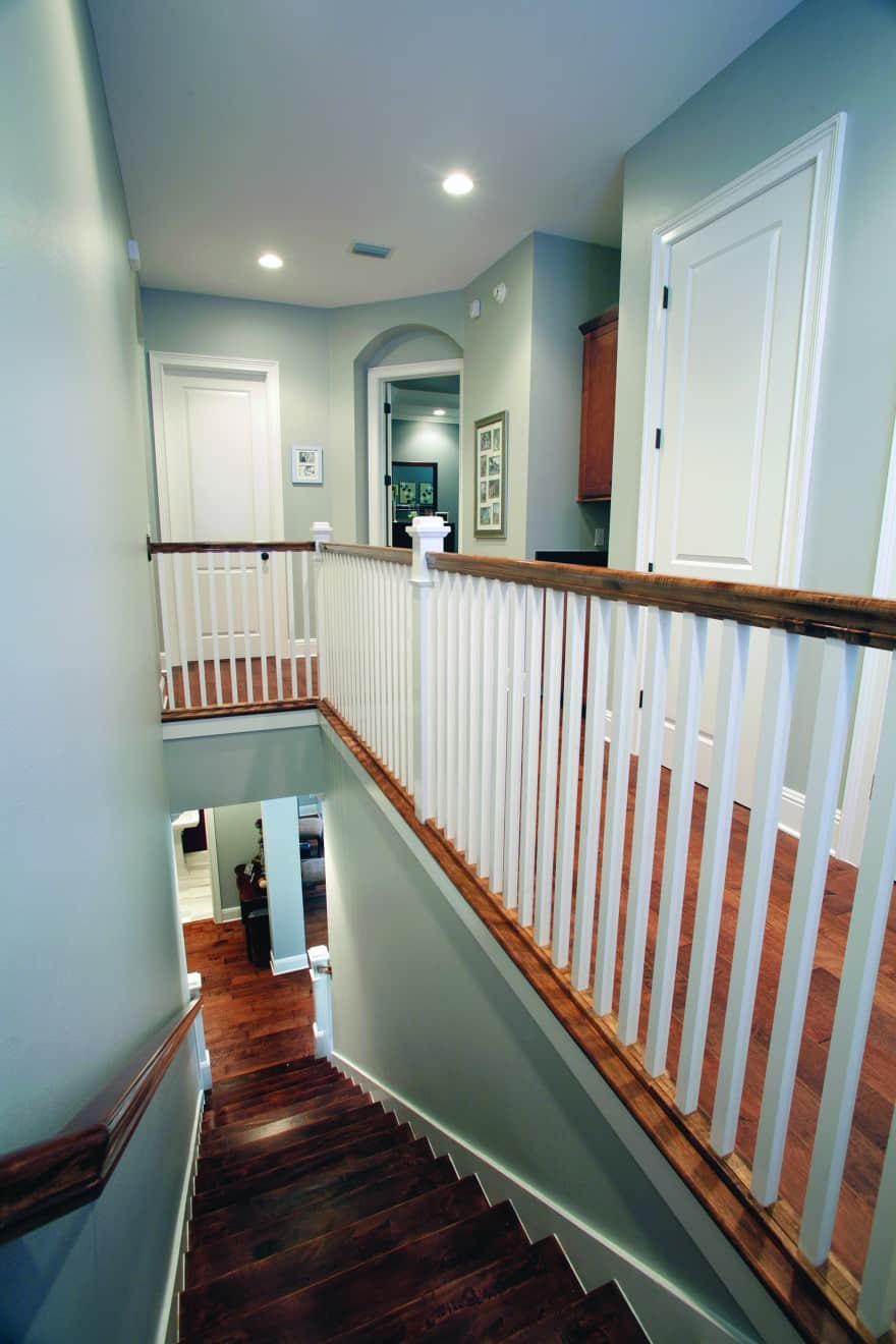 Palma Vista Craftsman_hallway_