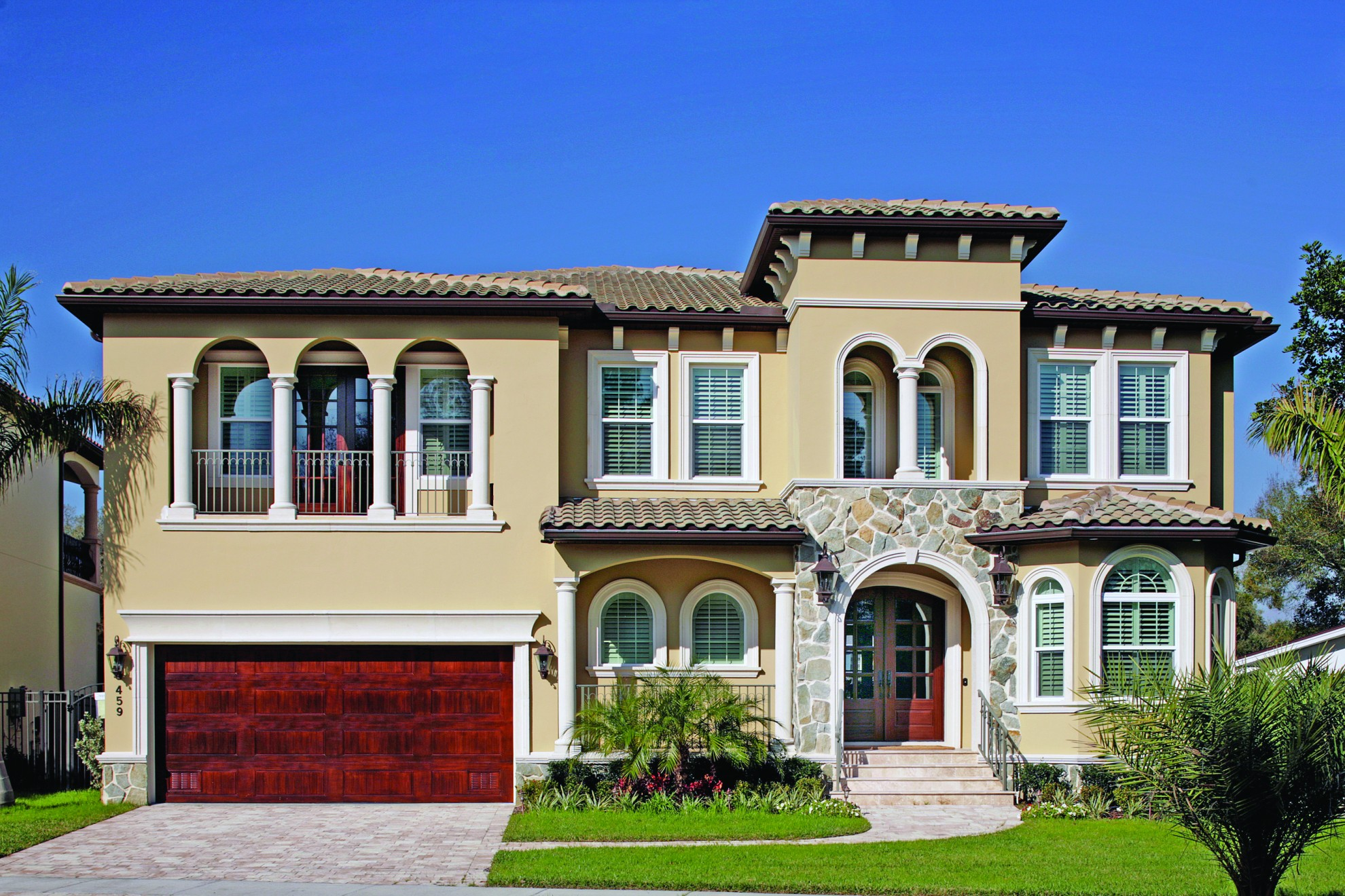 Luxury Custom Home Exteriors By Devonshire Custom Homes