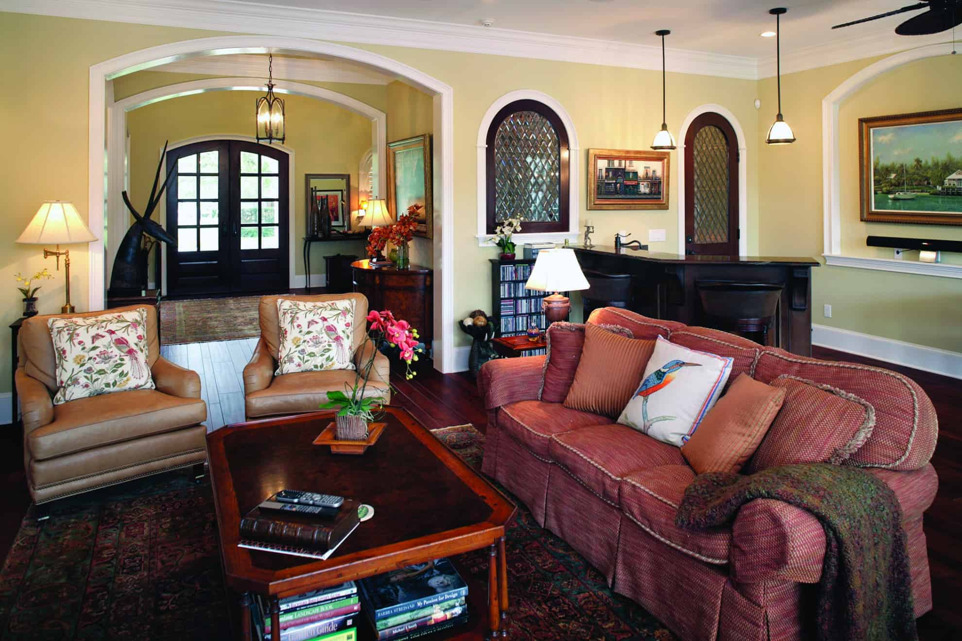 Davis Islands Mediterranean Great Room