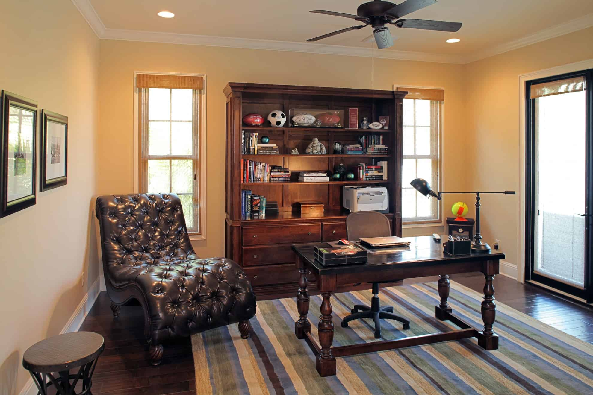 Bayshore Estates Custom Home_Home Office_