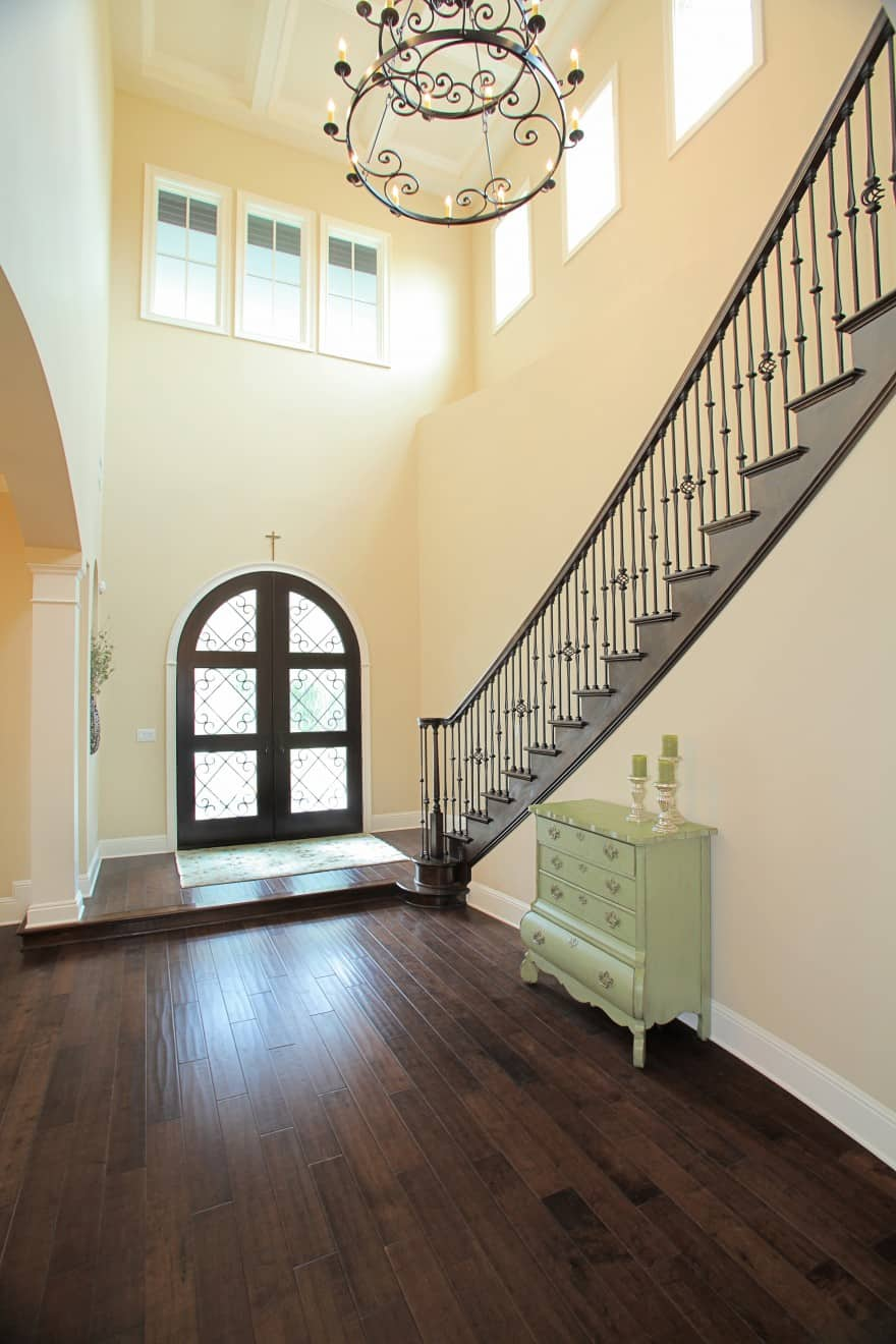 Bayshore Estates Custom Home_Staircase_