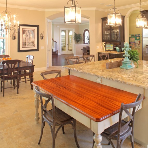 Beach Park Custom Home_Kitchen_