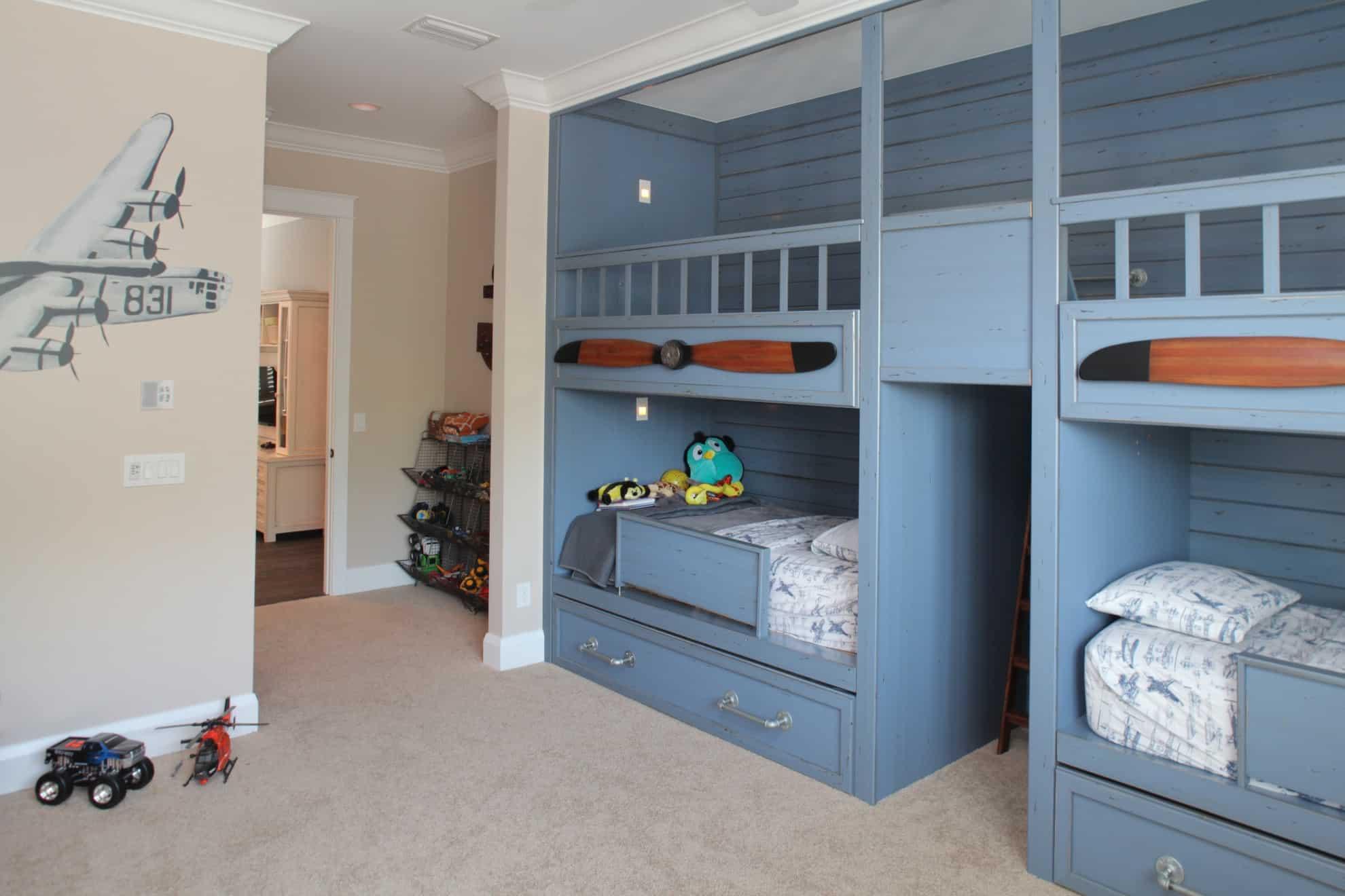Sunset Park Craftsman_Kids Room_