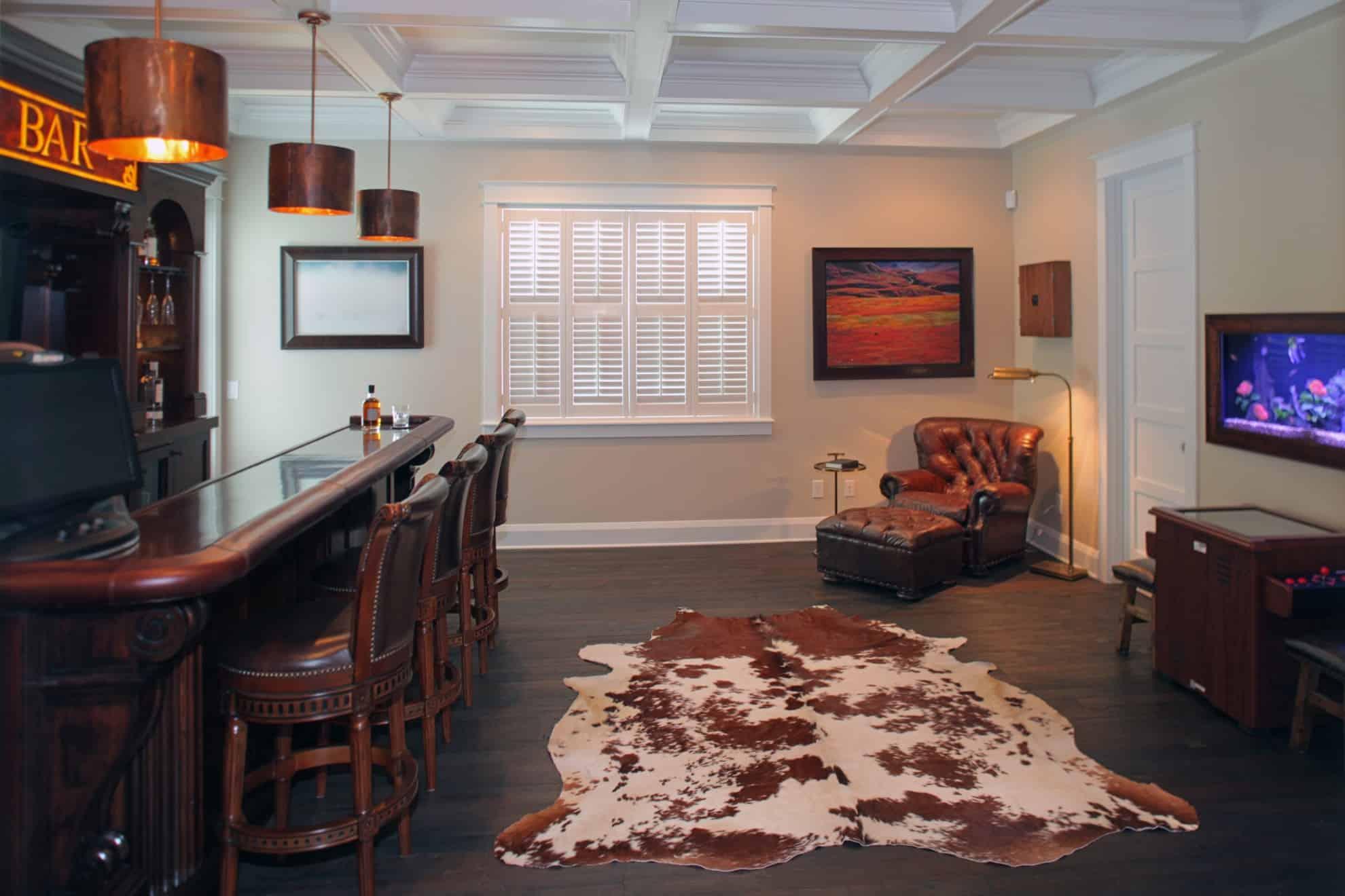 Sunset Park Craftsman_Home Bar_