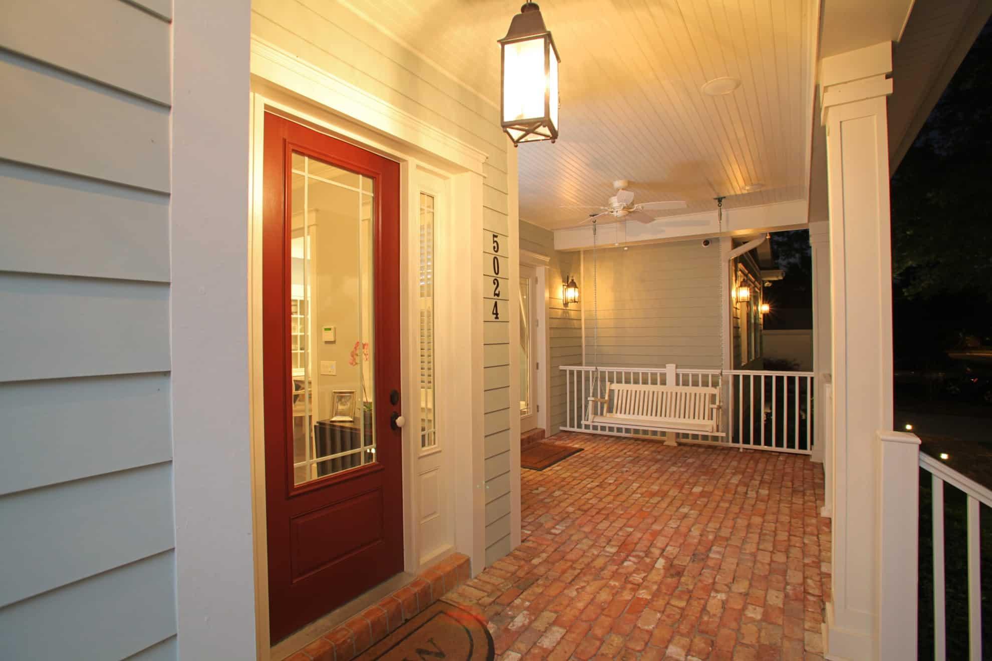 Sunset Park Craftsman_Front Door