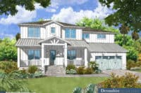 Davis Islands Modern Farmhouse rendering