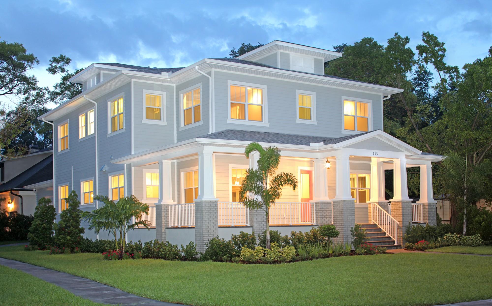 Custom home builder tampa st petersburg luxury home for Custom built houses