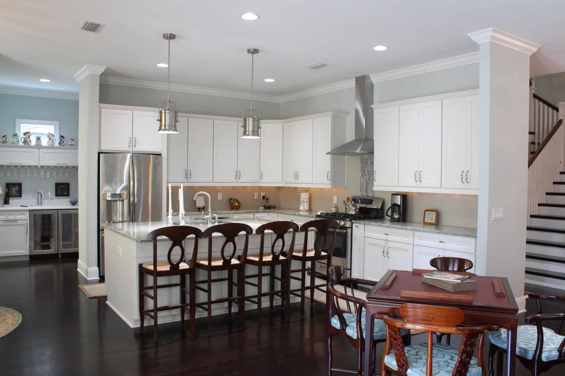 Old Northeast Custom Home_Kitchen & Breakfast Area