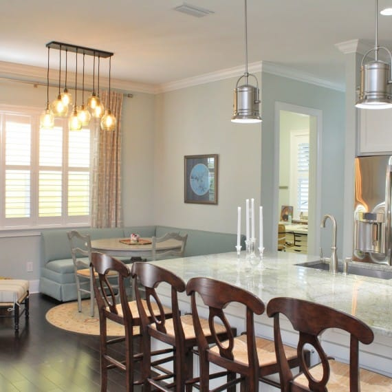 Old Northeast Custom Home_Breakfast Area_