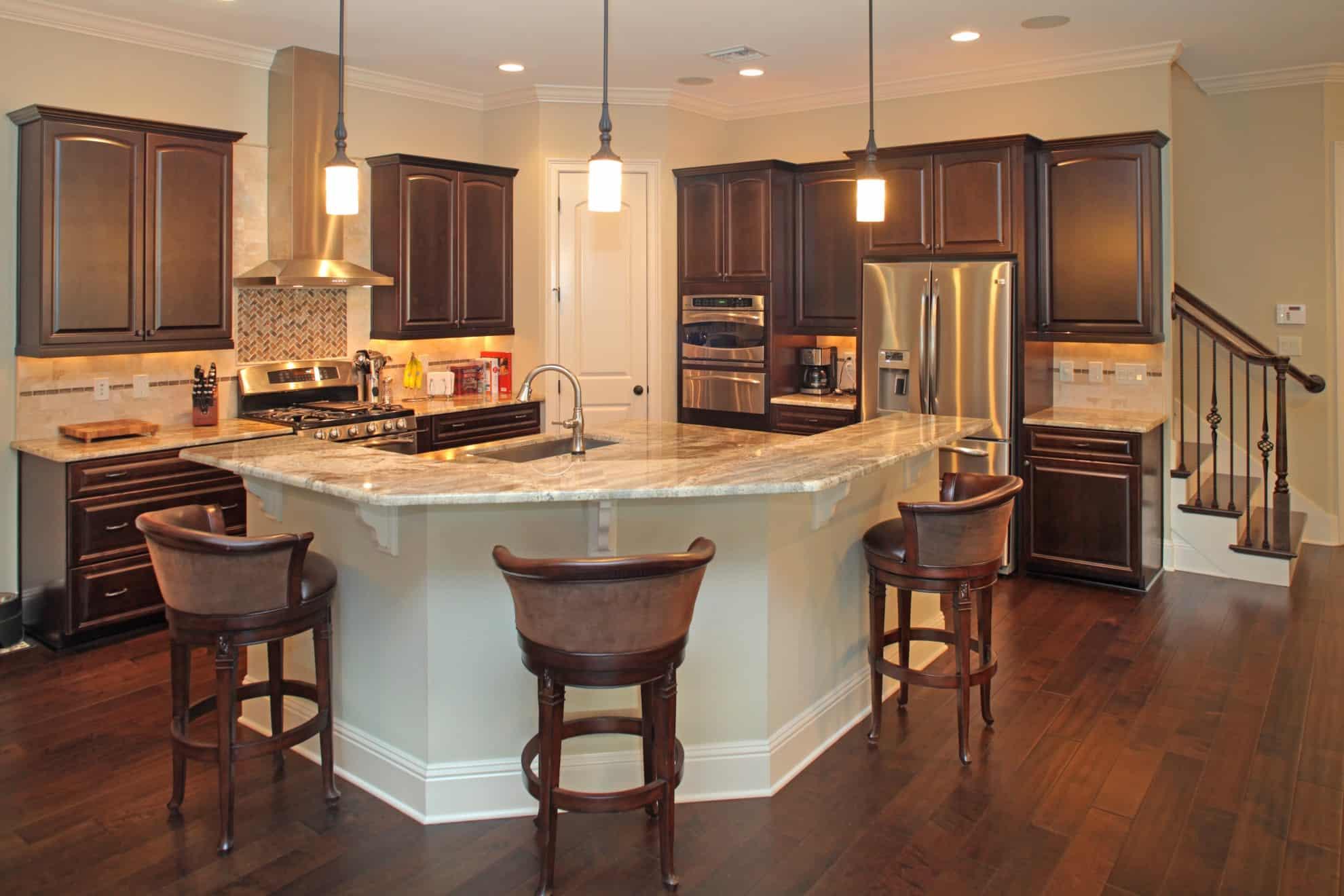 Mediterranean Kitchen Kitchens Breakfast Areas Luxury Homes Devonshire Custom Homes