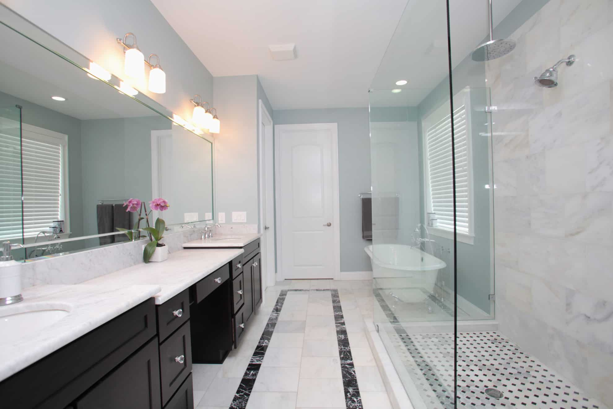 Melrose canal home- master bath