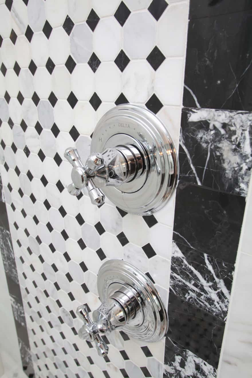 Melrose canal home- master shower detail