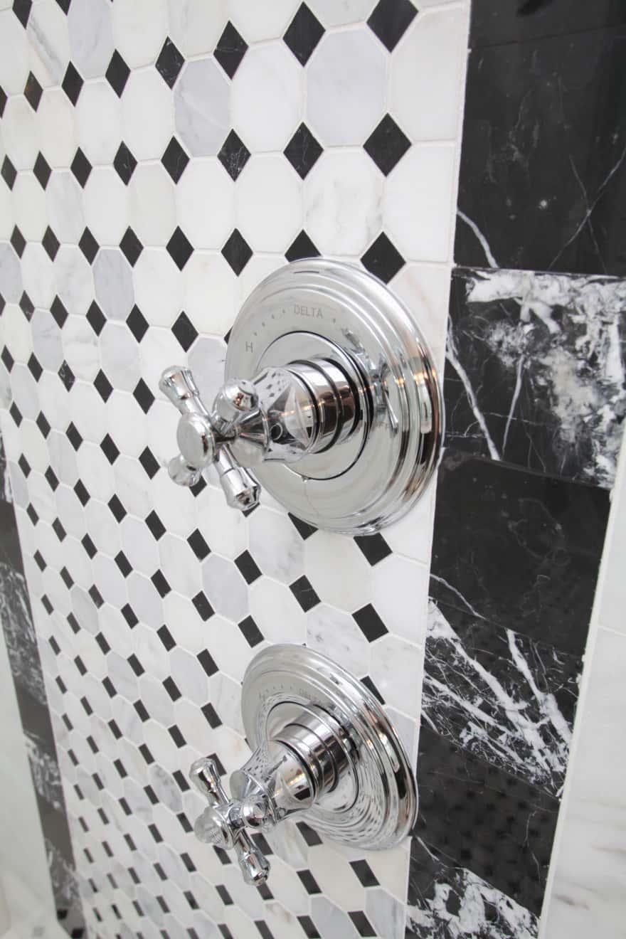 Melrose canal home- master shower detail