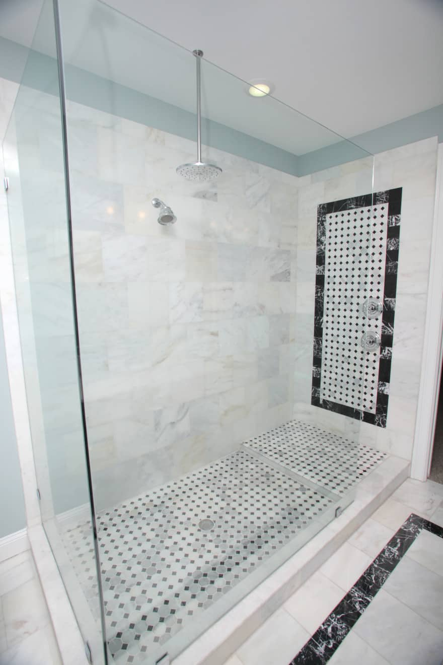 Melrose canal home- master shower