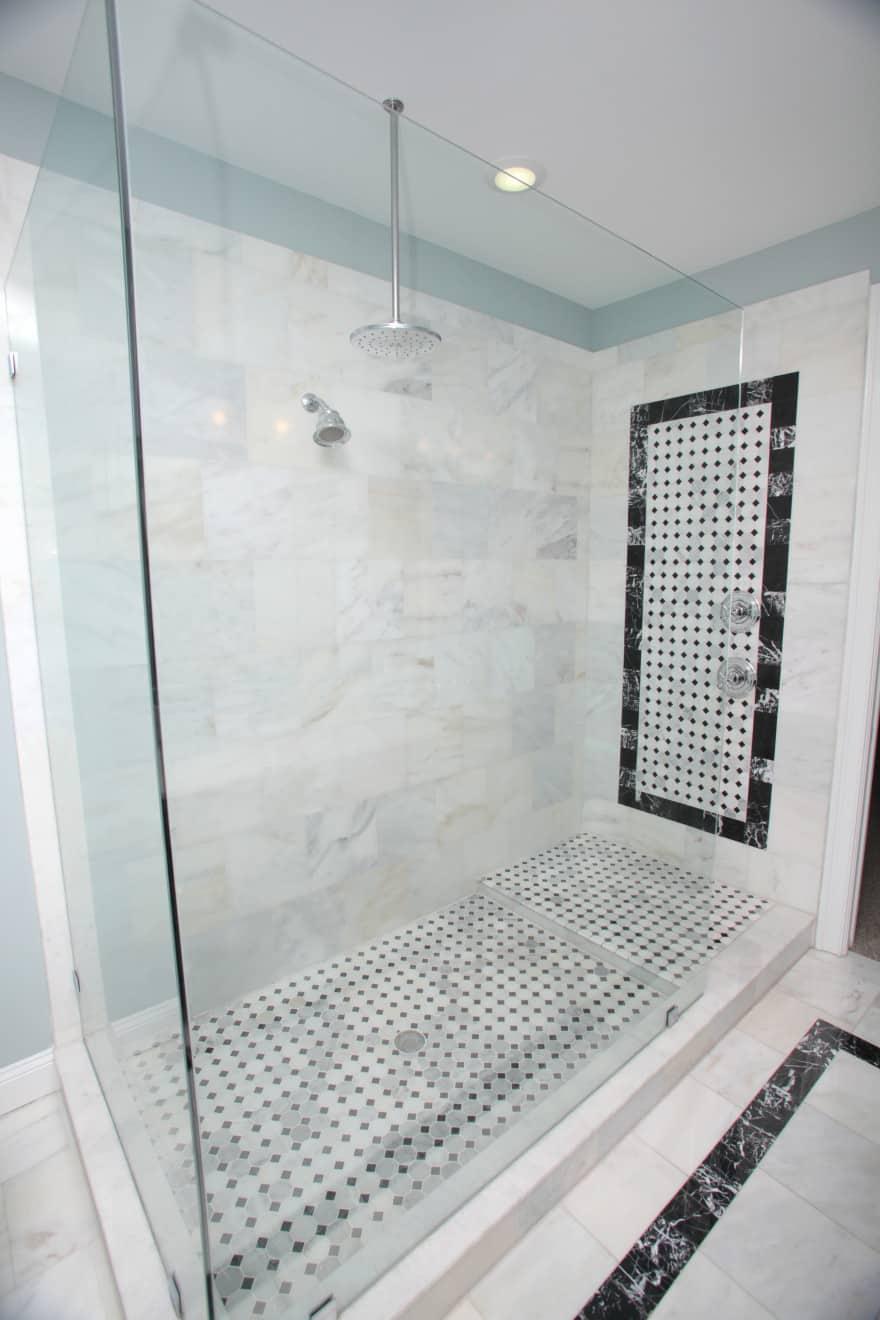 Melrose canal home- master shower