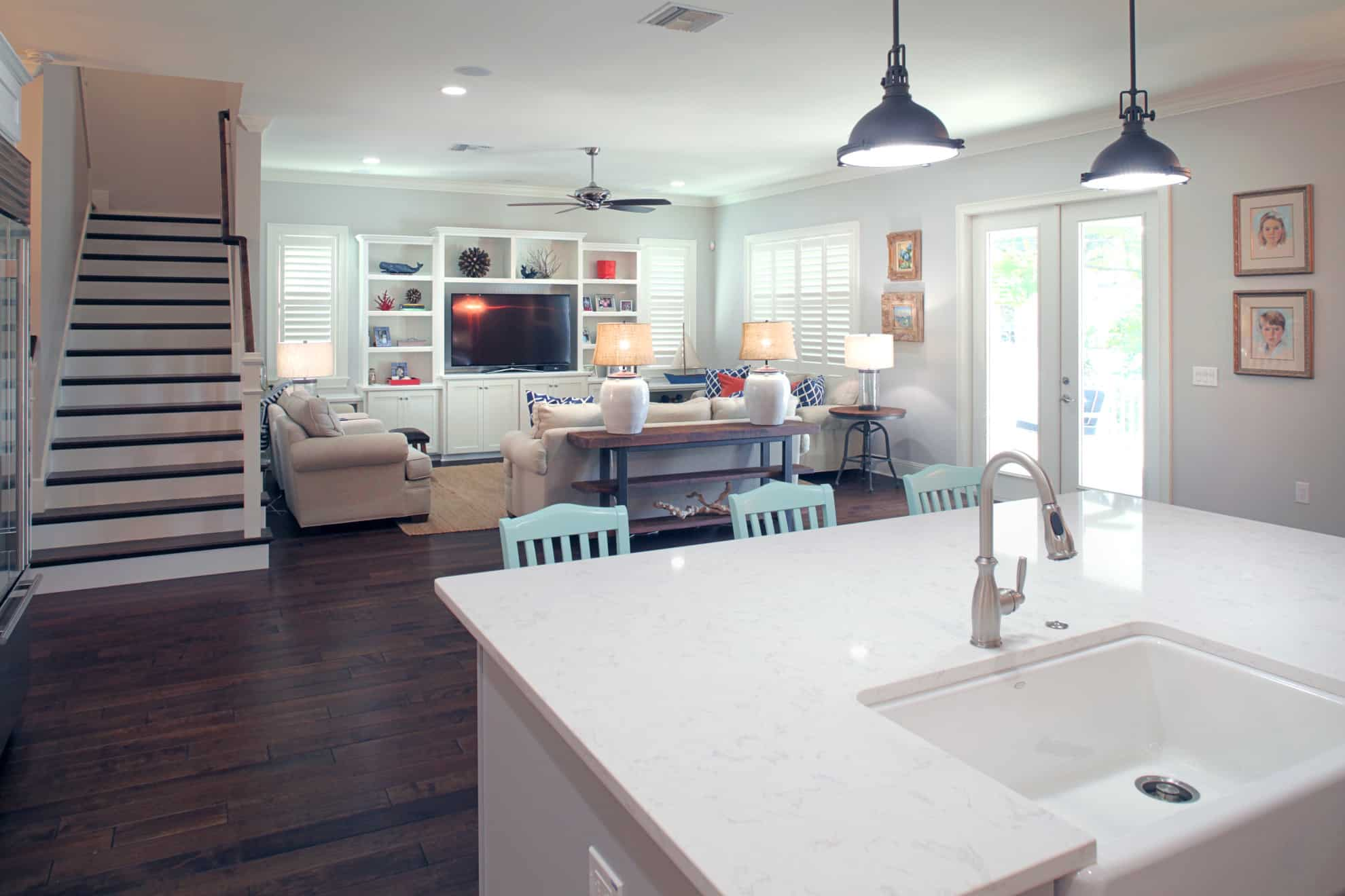Vasconia Custom Home Great Room