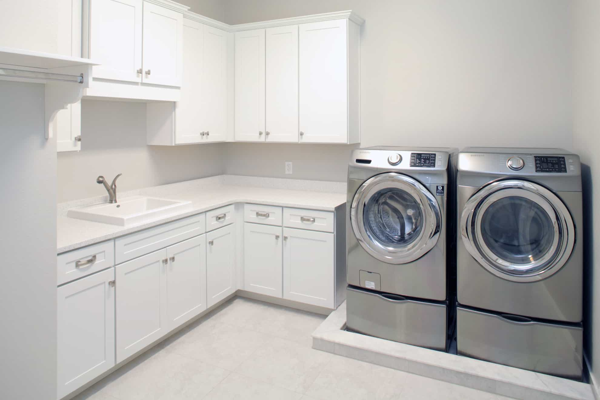 Vasconia Custom Home - Laundry room