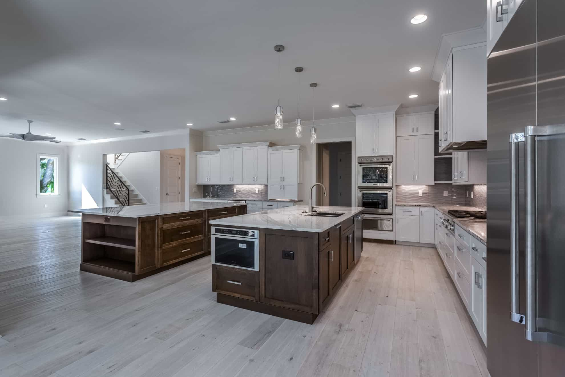 Custom Home Kitchen - Sunset Park