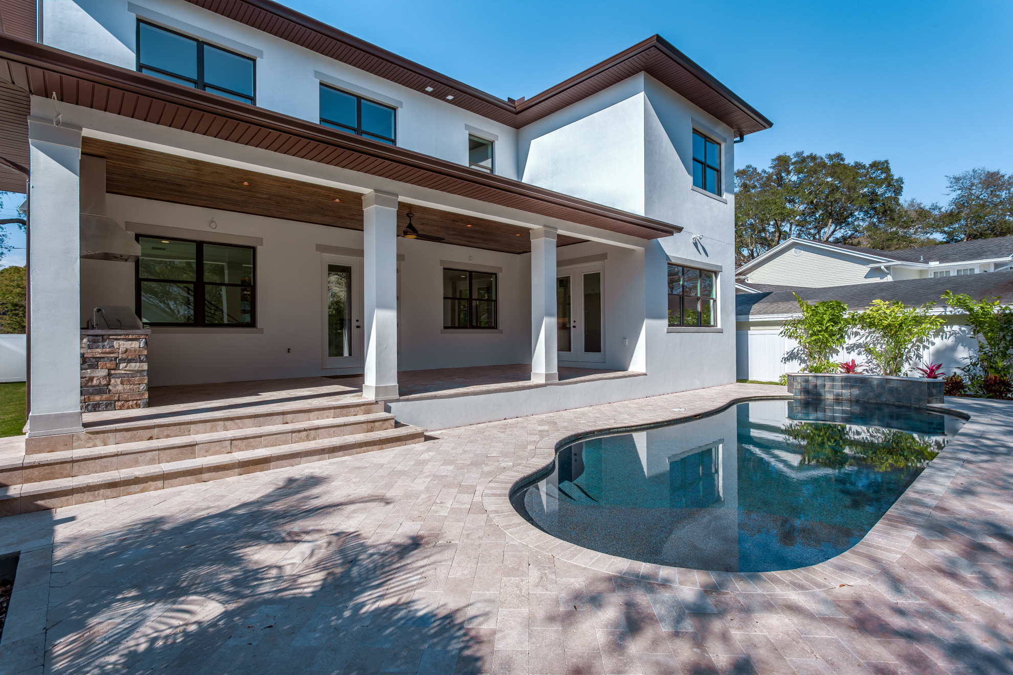 Pool - Sunset Park Custom Home