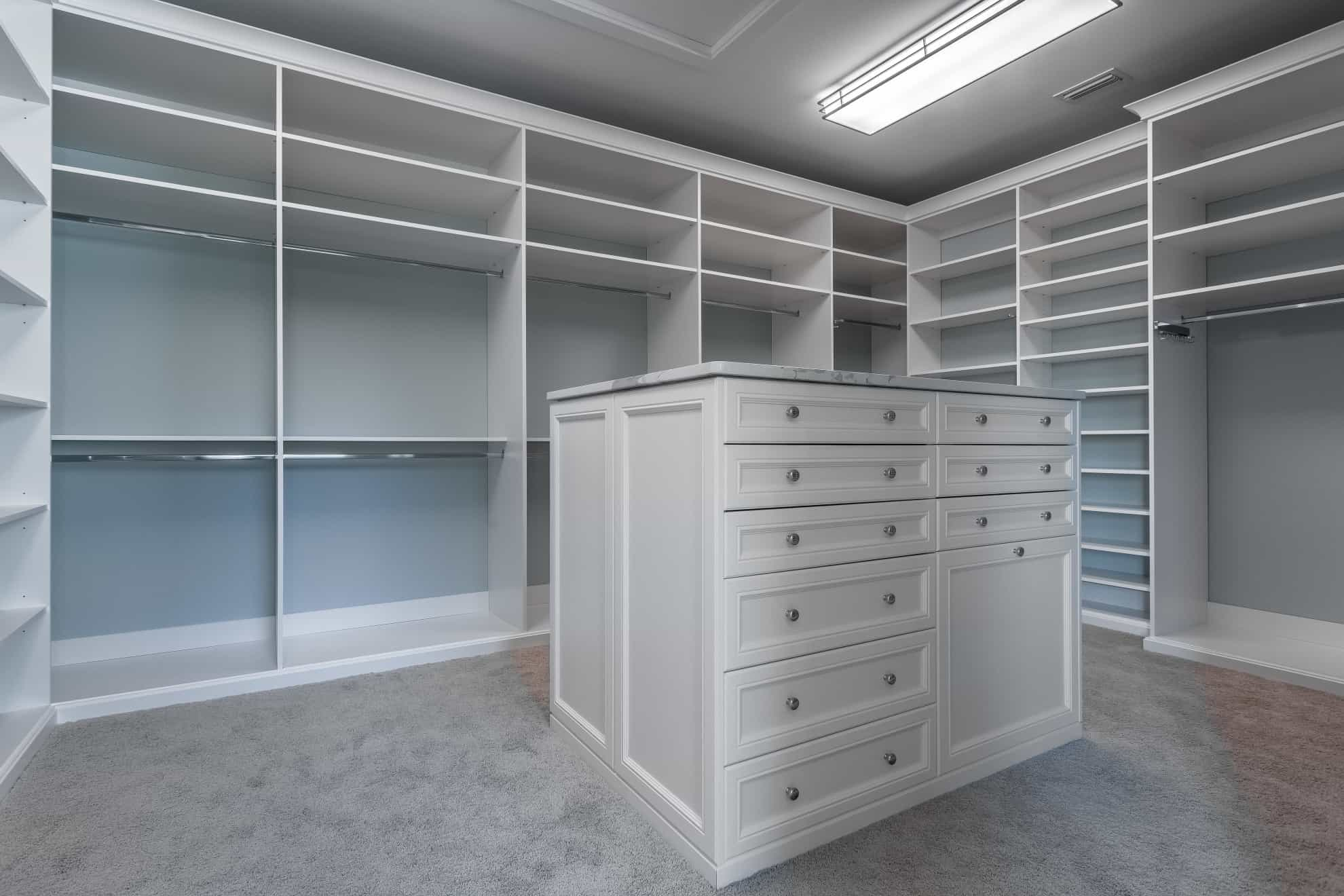Closet - Sunset Park Custom Home