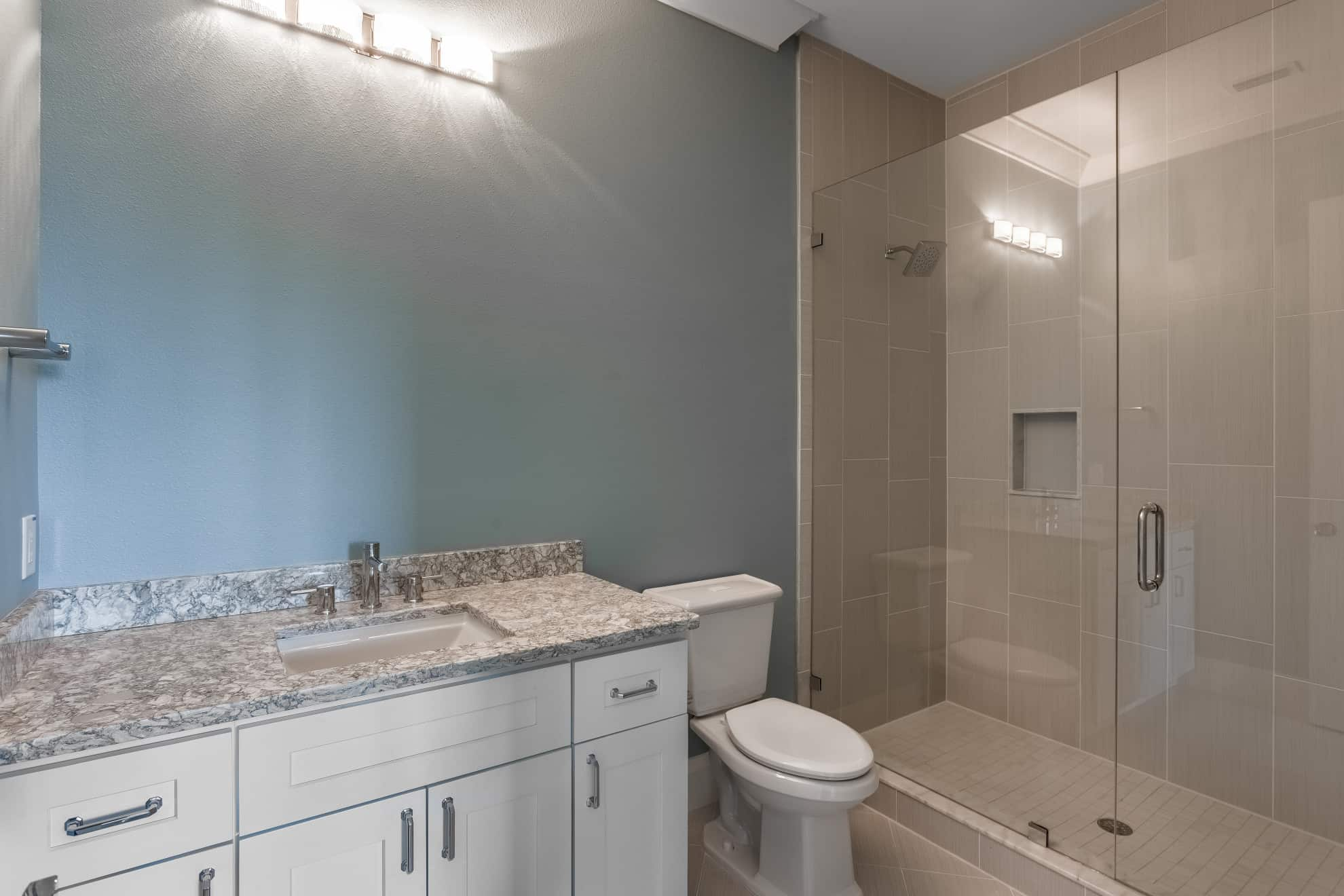 Bathroom - Sunset Park Custom Home
