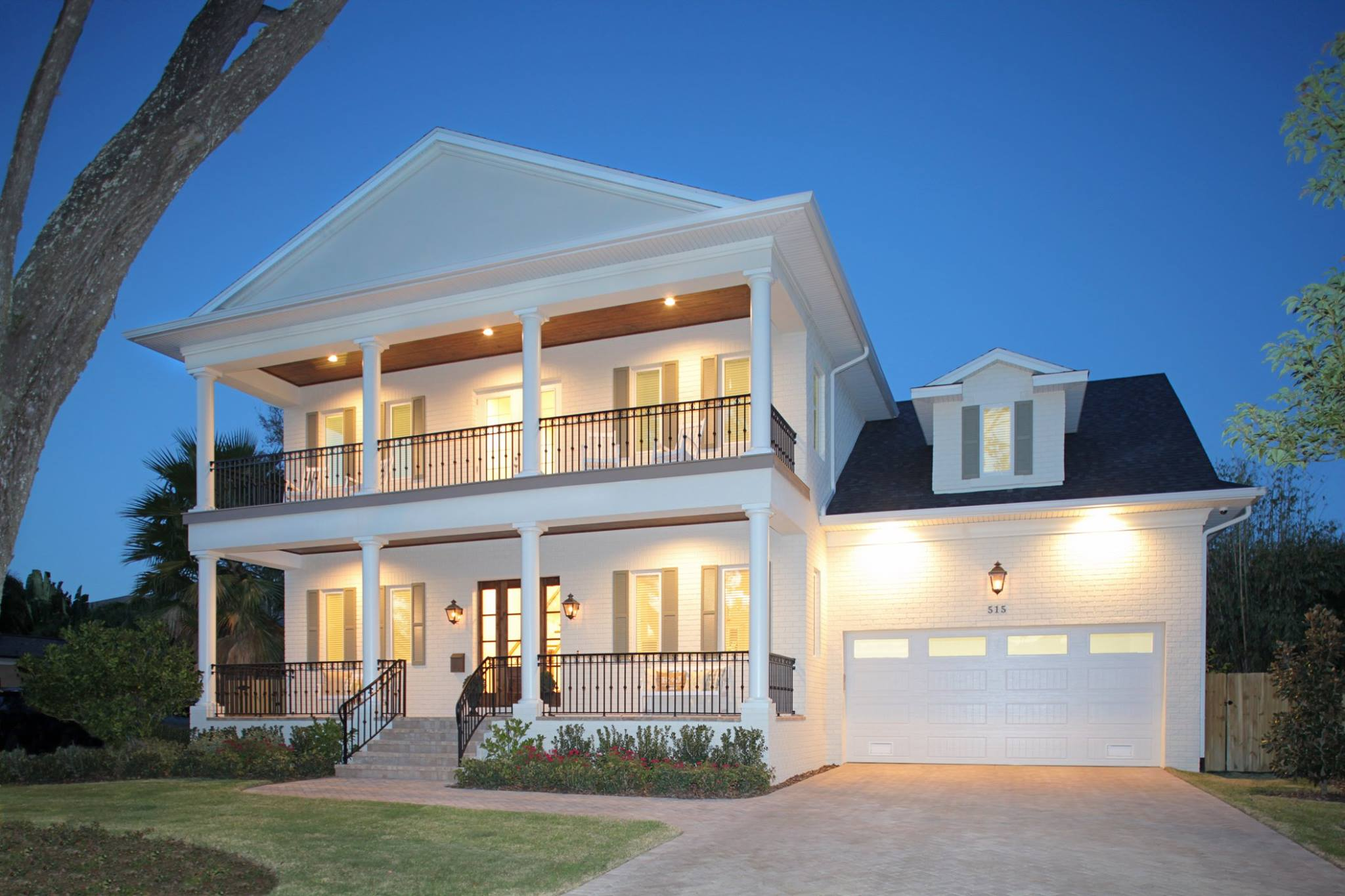 New Orleans Style Home House Design Ideas