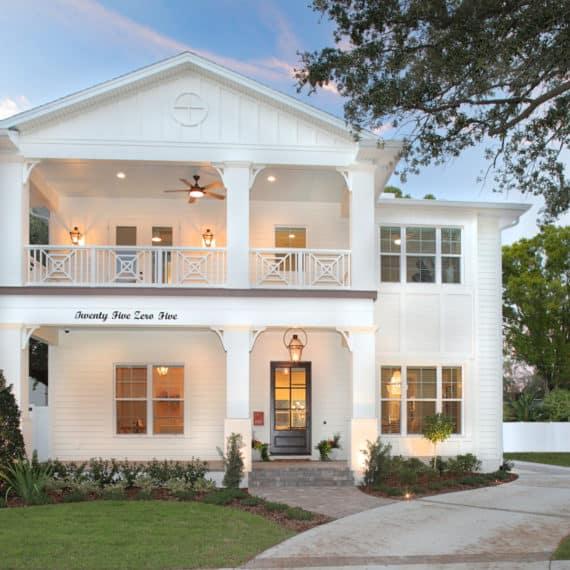 Parkland Estates Coastal Contemporary - Front Exterior   Devonshire Custom Homes