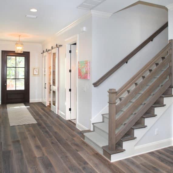 Parkland Estates Coastal Contemporary - staircase   Devonshire Custom Homes