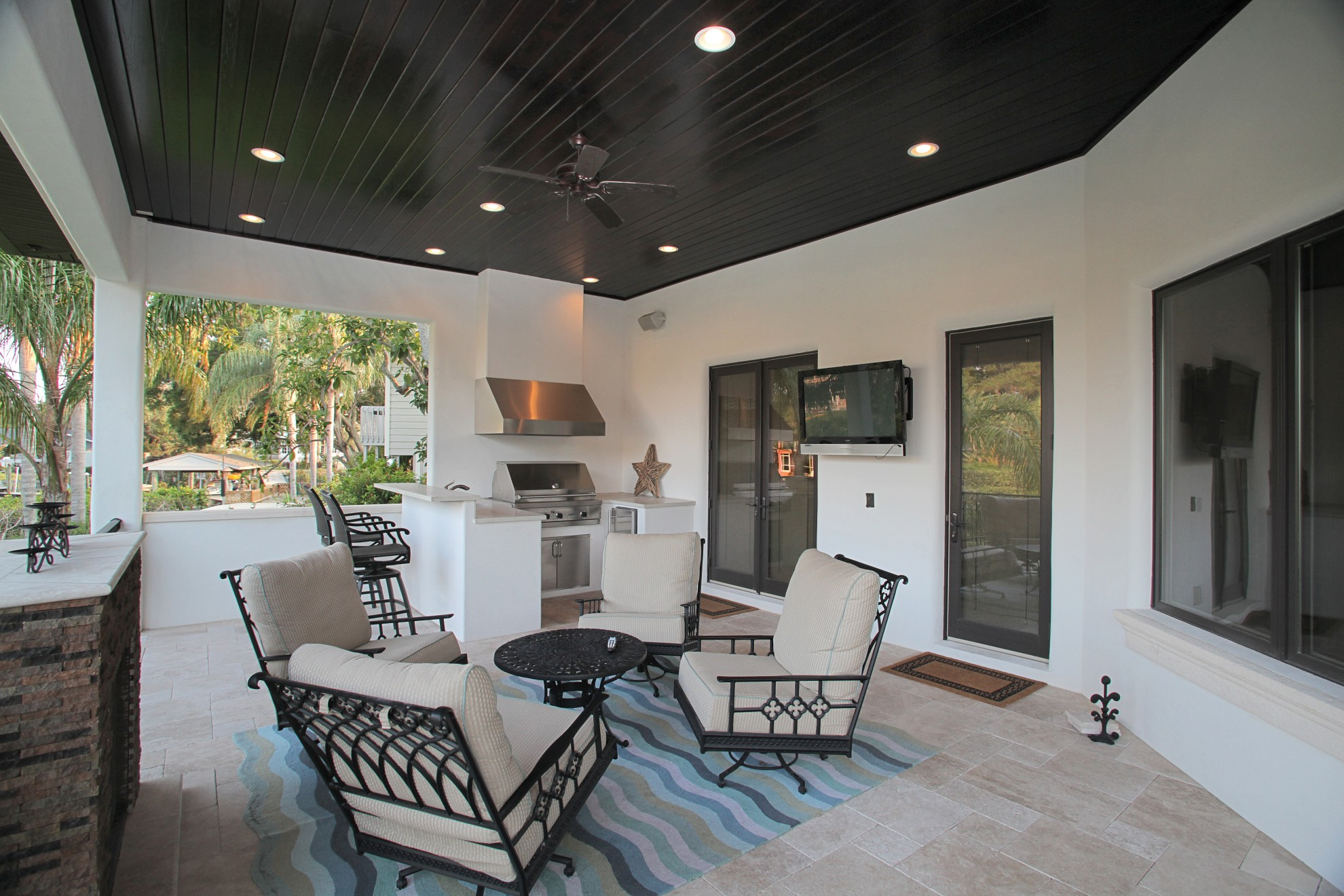 Bayshore Estates Custom Home on Custom Outdoor Living id=86543