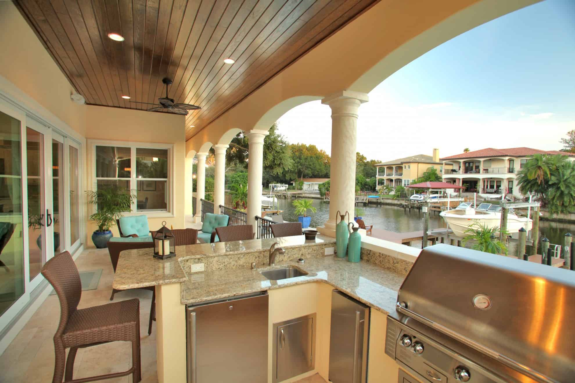 Outdoor Living Areas | Tampa Bay | Devonshire Custom Homes on Outside Living Area id=72444